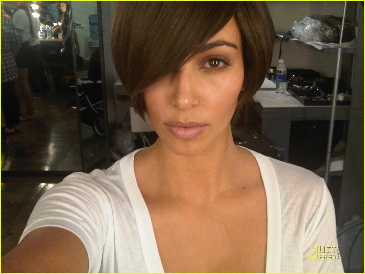 kim kardashian short hair 011978571