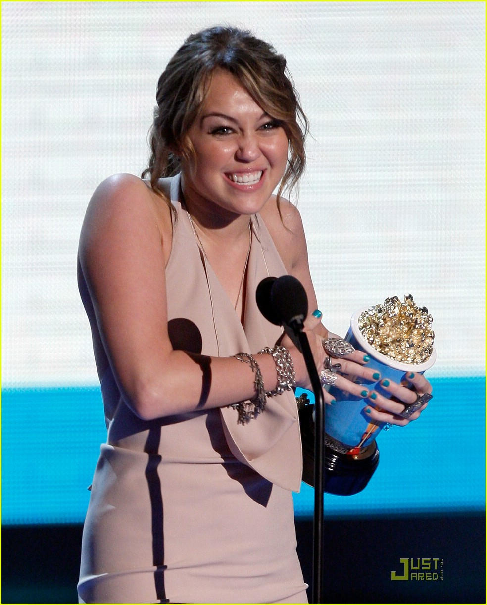 miley cyrus mtv movie awards 2009 061958871