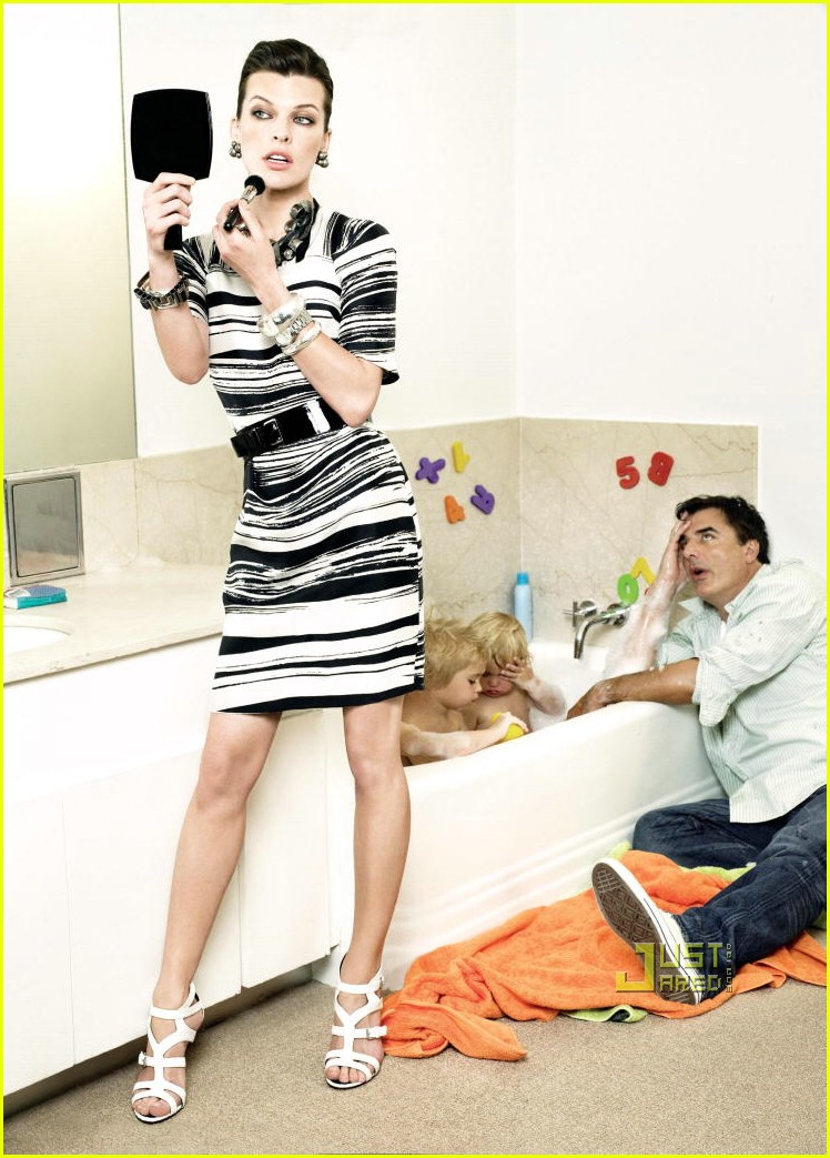 milla jovovich chris noth house 01