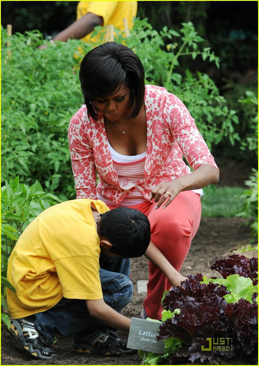 michelle obama white house kitchen garden 082001151