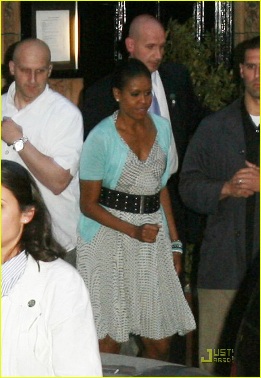 michelle obama london lady 011977051