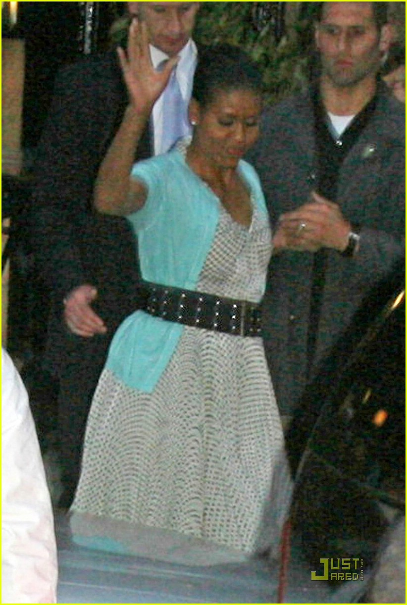 michelle obama london lady 08