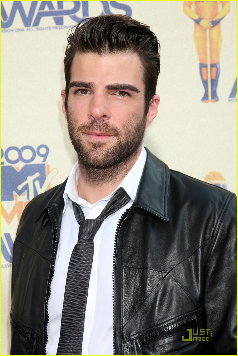 zachary quinto mtv movie awards 2009 04