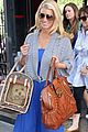 jessica simpson bright blue dress 04