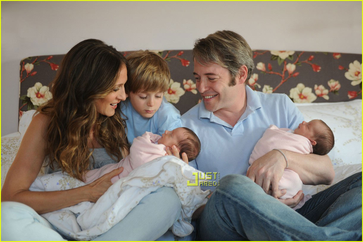 sarah jessica parker twins first picture 032021751