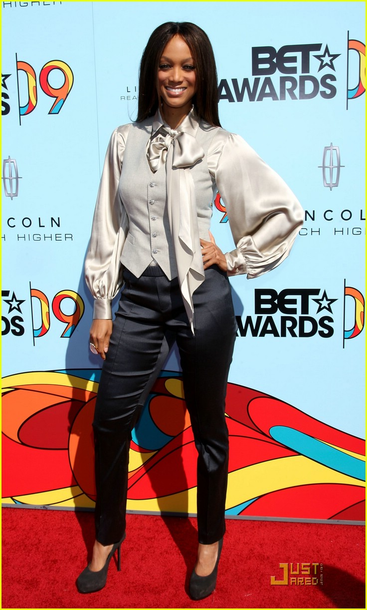 tyra banks bet awards 2009 042018751