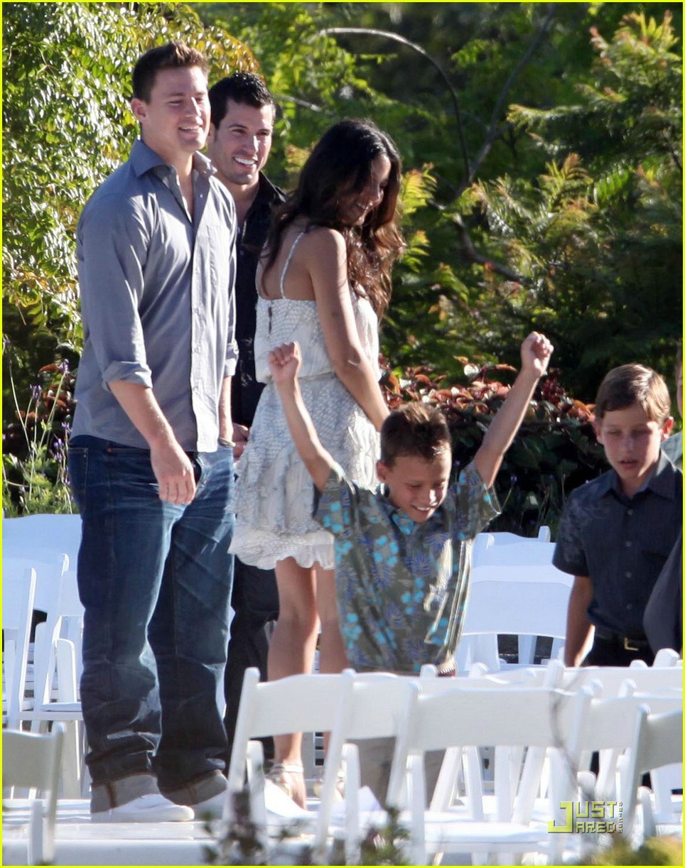 Channing Tatum Wedding Rehearsal Pictures