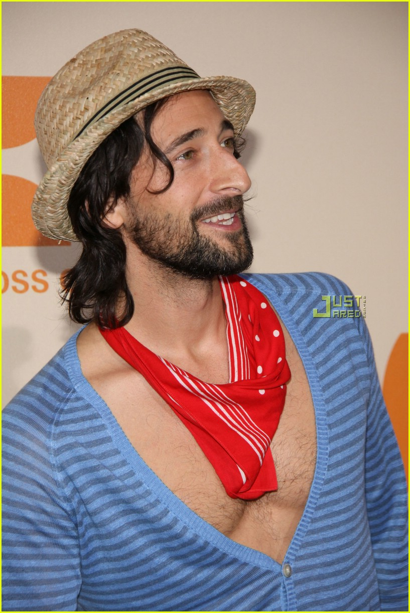 adrien brody chest hair 072027281