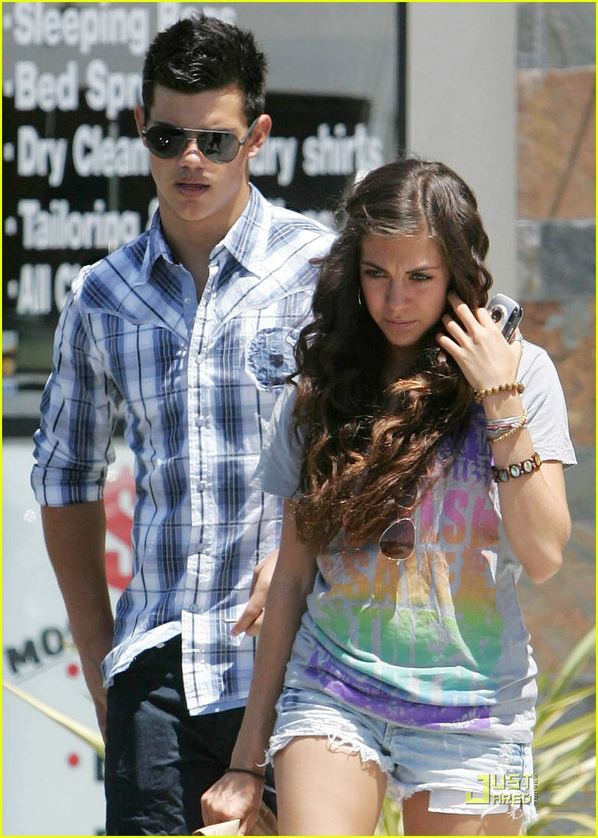 Are taylor lautner and sara hicks dating