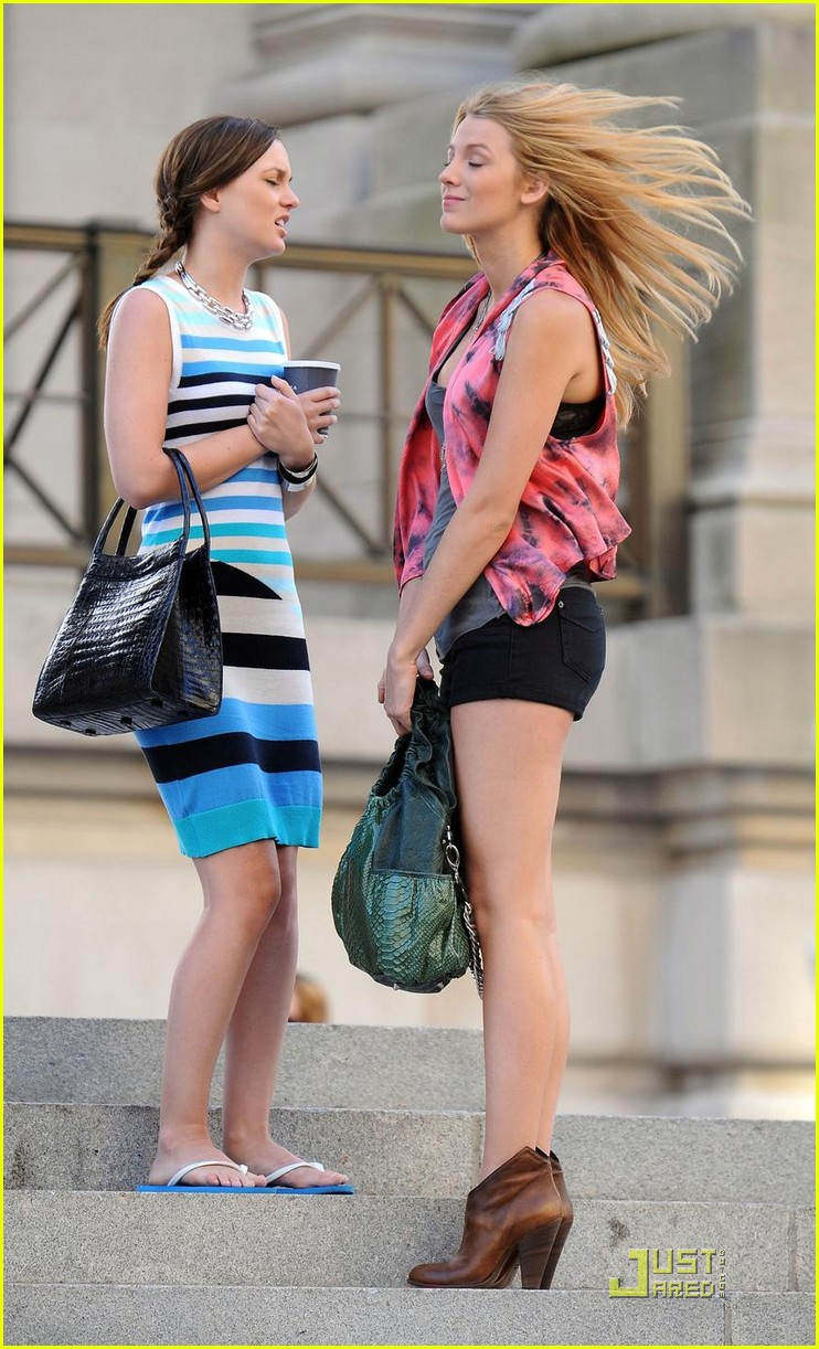 Leighton meester y blake lively