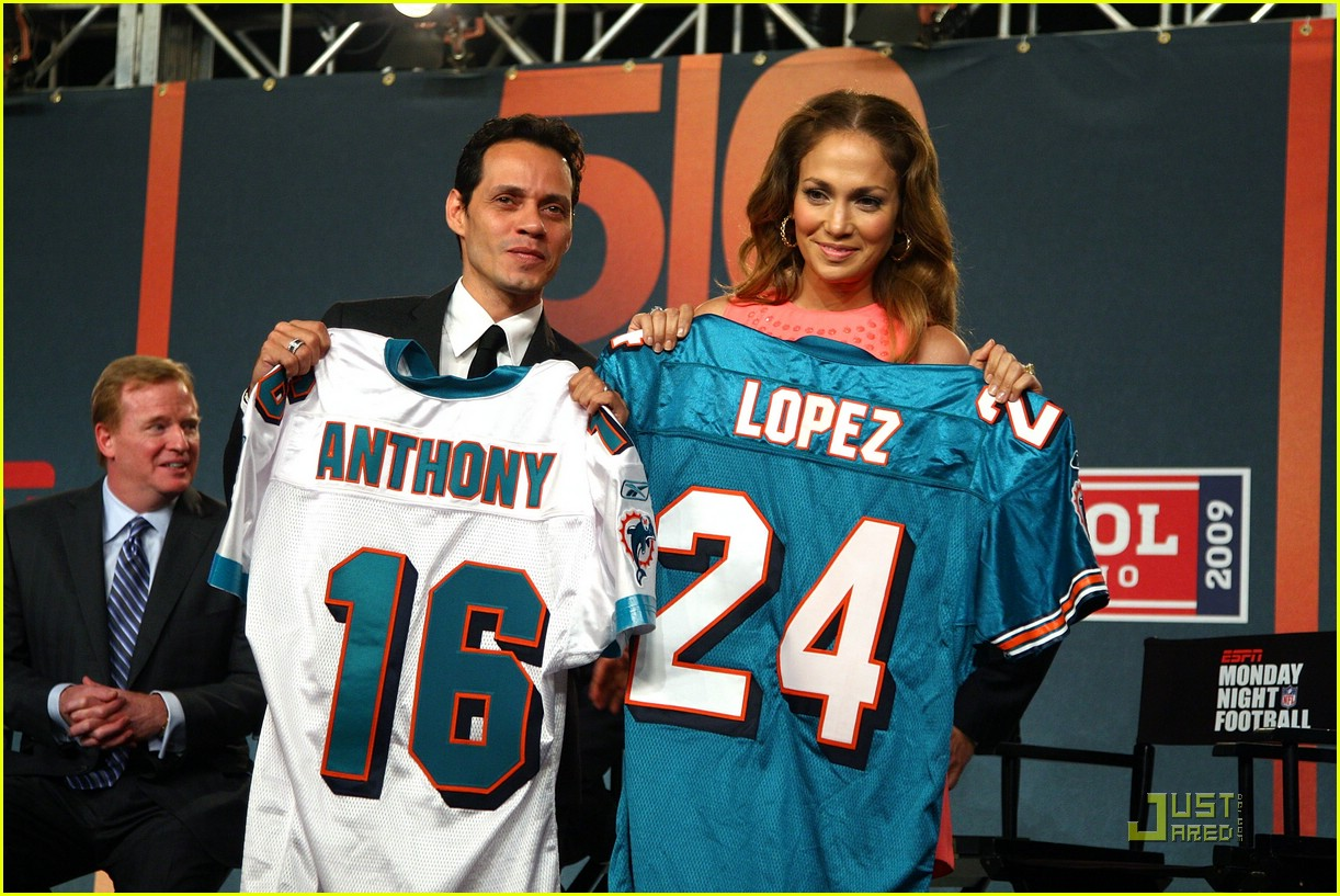 jennifer lopez dolphins marc anthony 072067761
