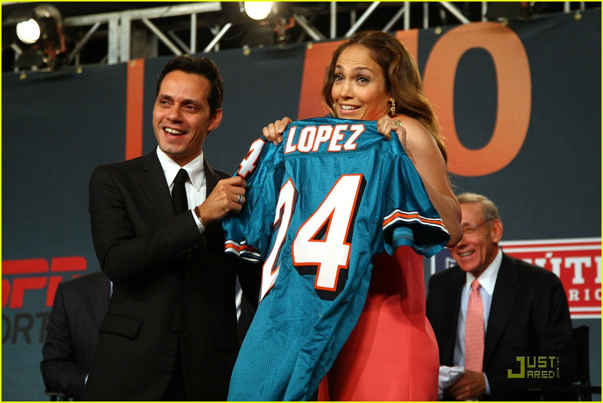 jennifer lopez dolphins marc anthony 082067771