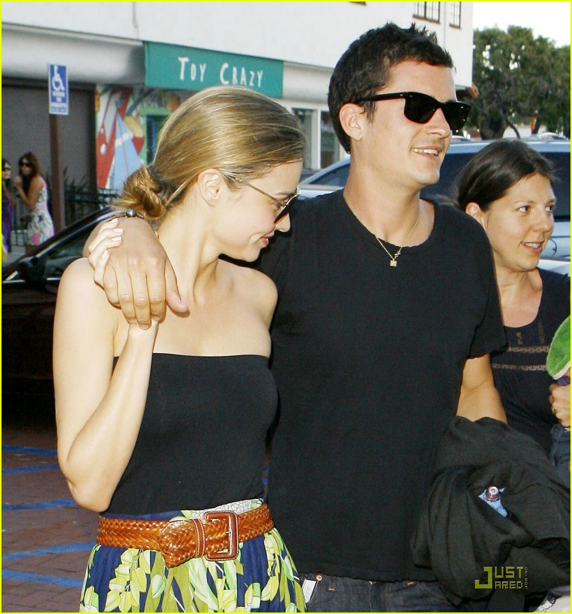 Orlando Bloom Miranda Kerr Go Greek
