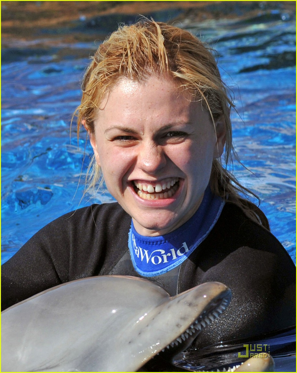 anna paquin stephen moyer seaworld 022081312