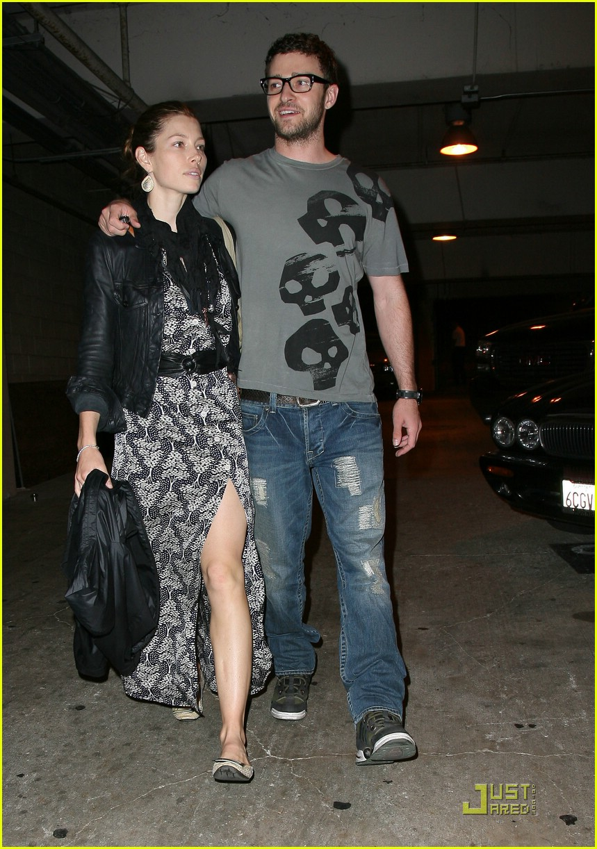 justin timberlake jessica biel hollywood bowl 052049371