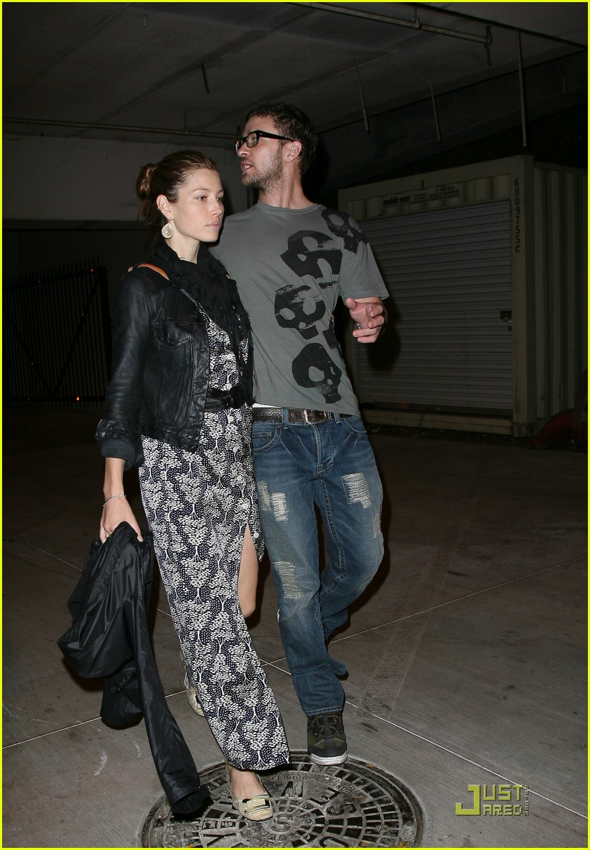 justin timberlake jessica biel hollywood bowl 062049381