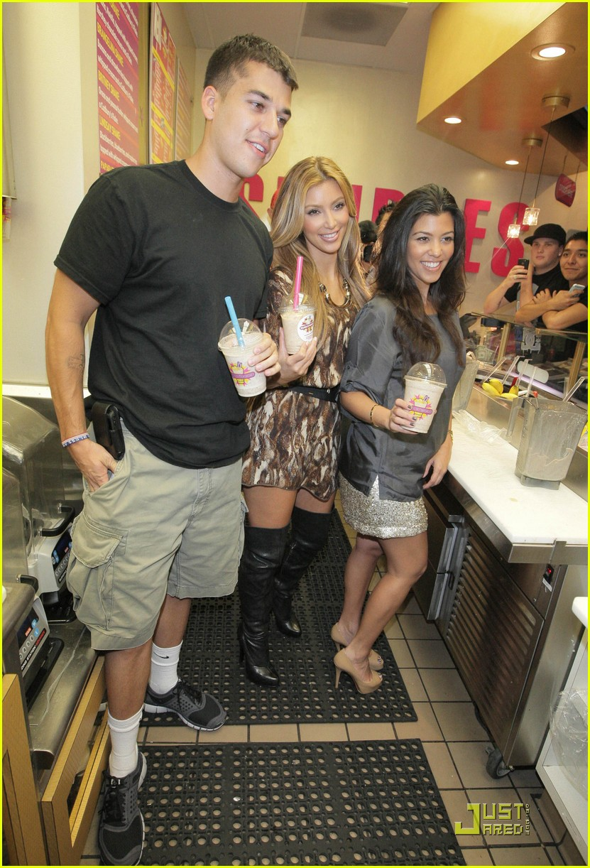 kim kourtney kardashian make millions of milkshakes 132173401