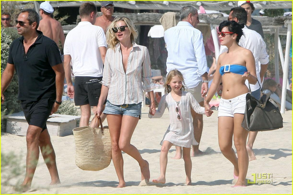 Kate Moss Lily Allen Club 55 Fun In The Sun Photo 2111571