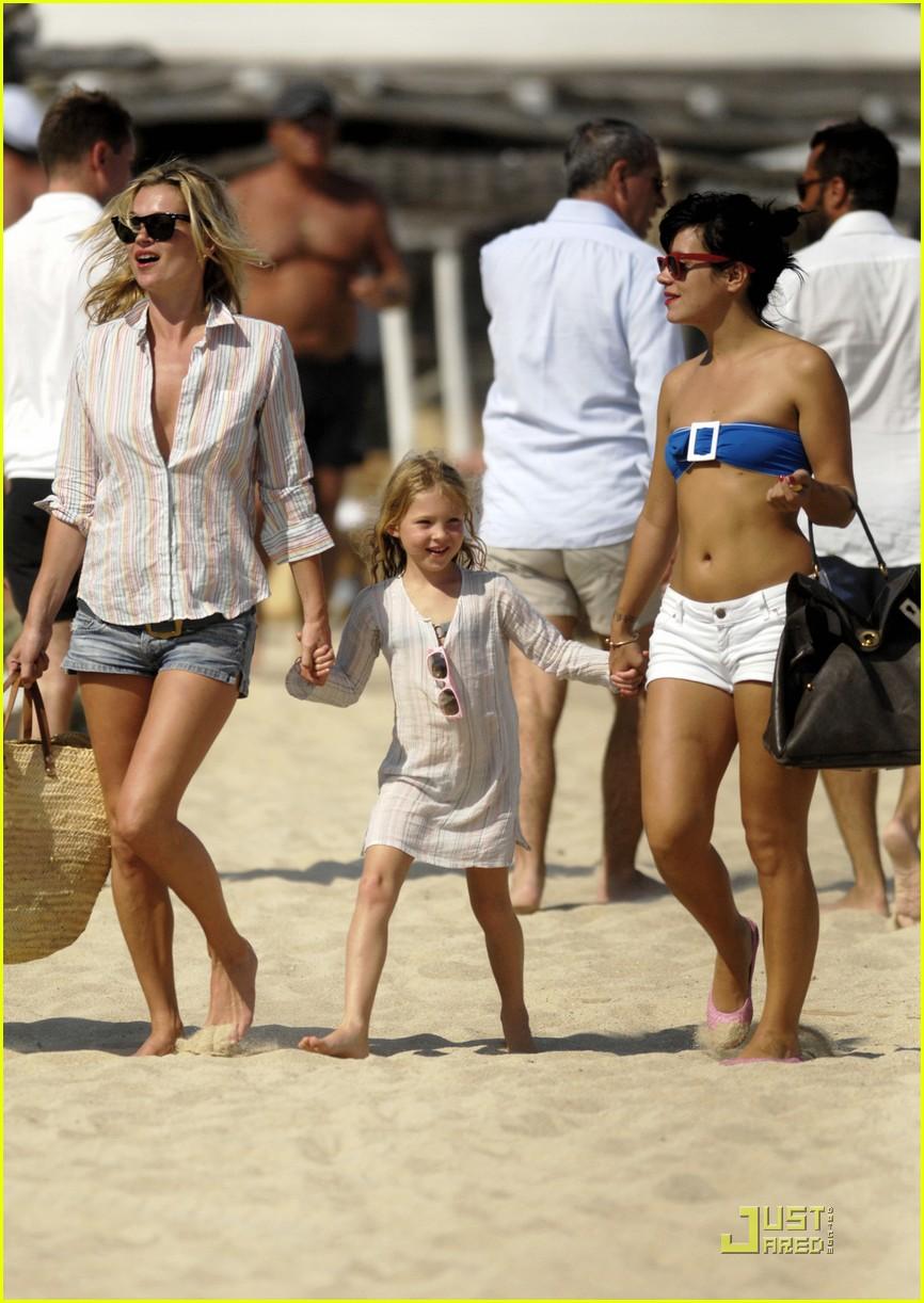 Kate Moss Lily Allen Club 55 Fun In The Sun Photo 2111691