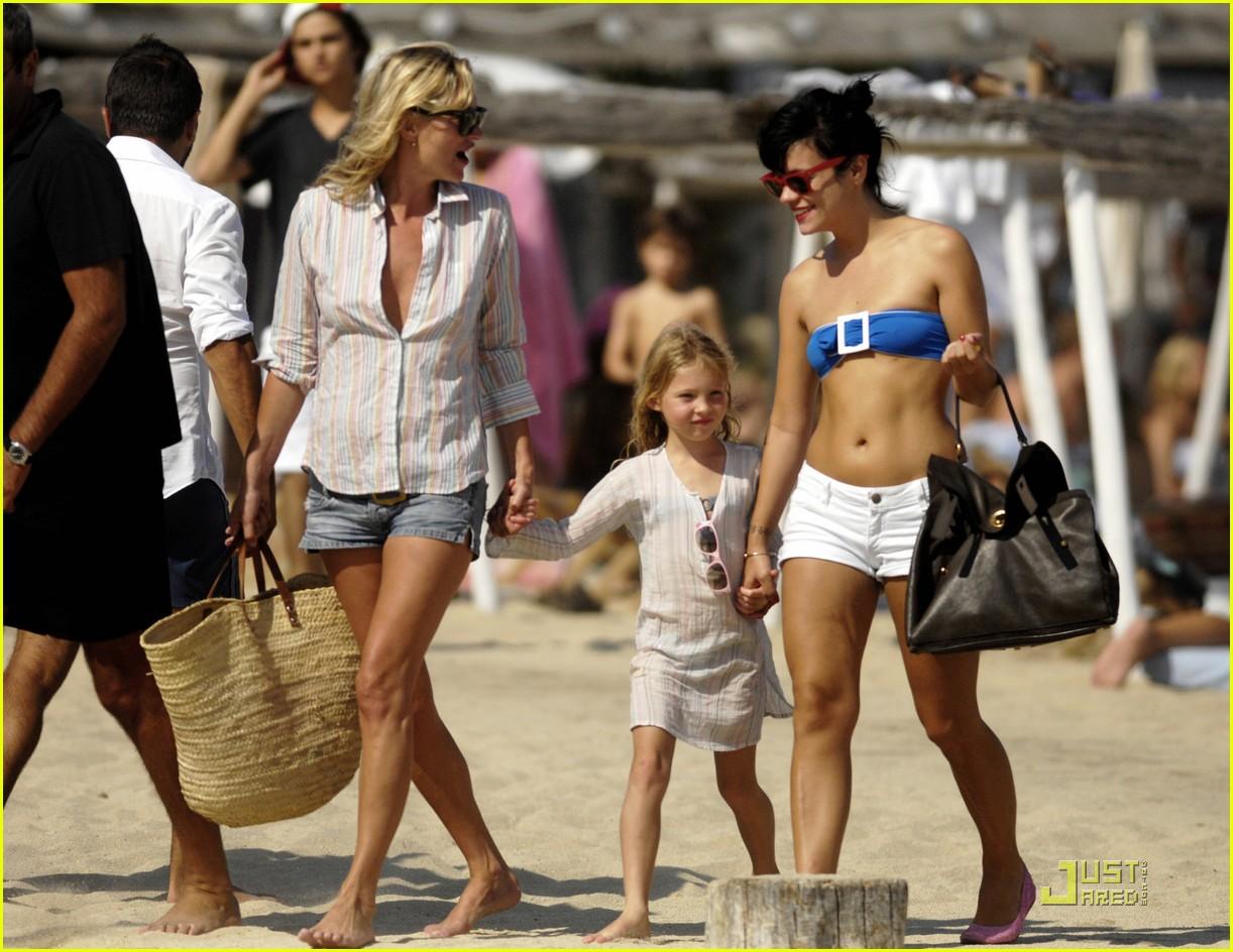 Kate Moss Lily Allen Club 55 Fun In The Sun Photo 2111701