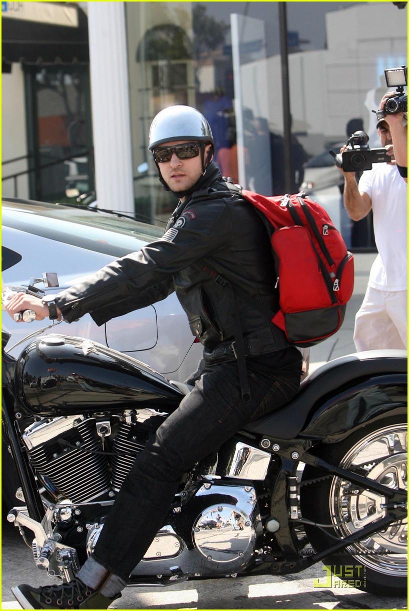 justin timberlake motorcycle 122128531