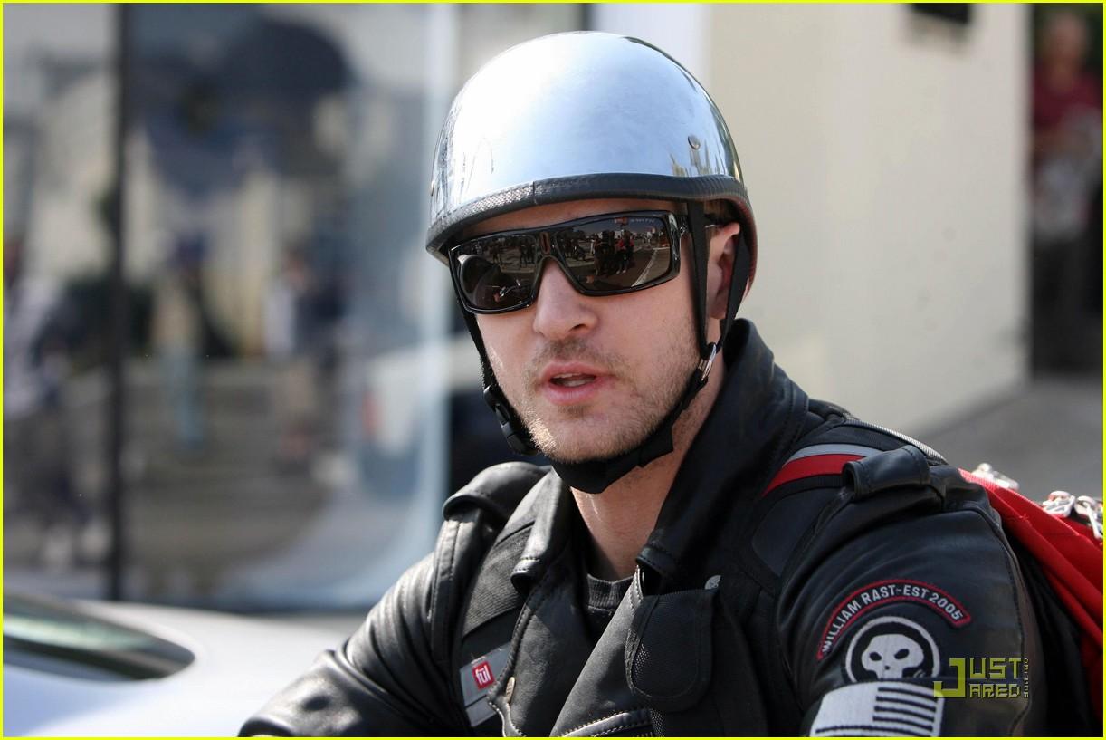 justin timberlake motorcycle 132128541
