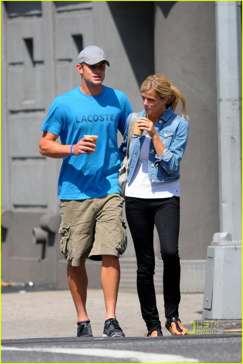 Full Sized Photo of andy roddick brooklyn decker coffee 07 ...