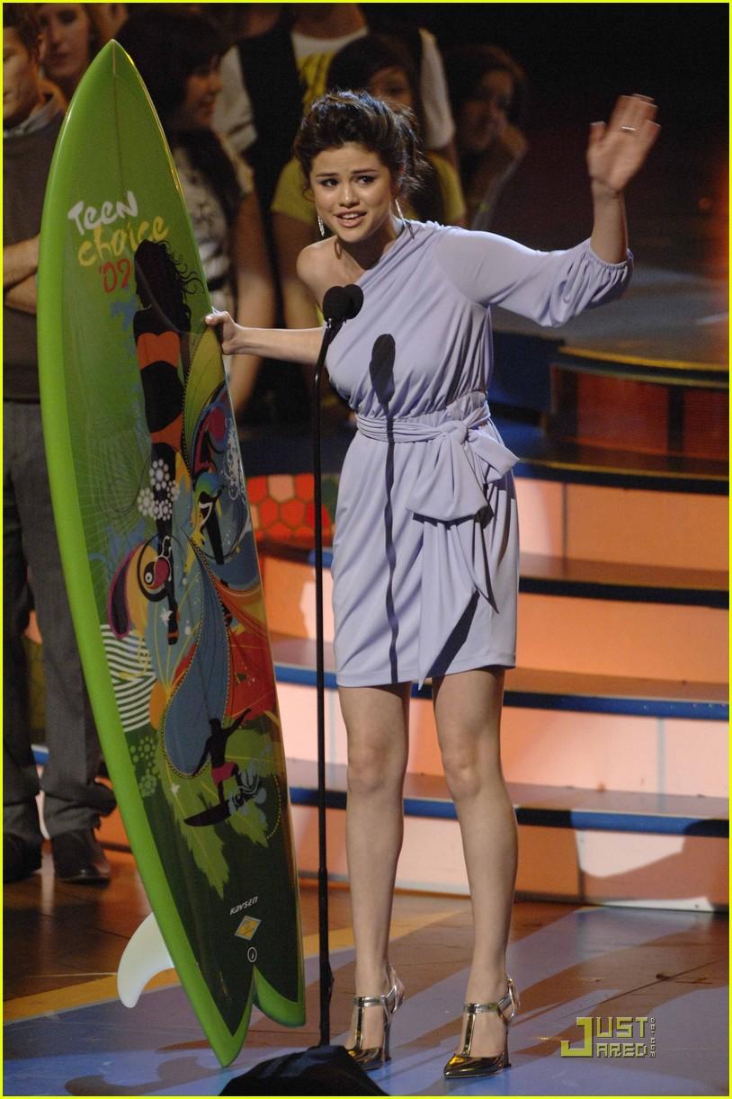 selena gomez teen choice awards 2009 06