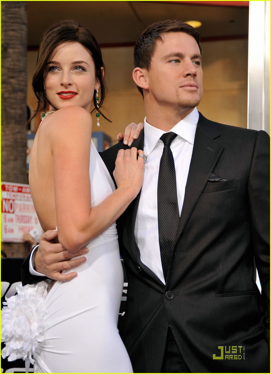 Channing Tatum Jenna Dewan Rise Of The Newlyweds Photo 2110091