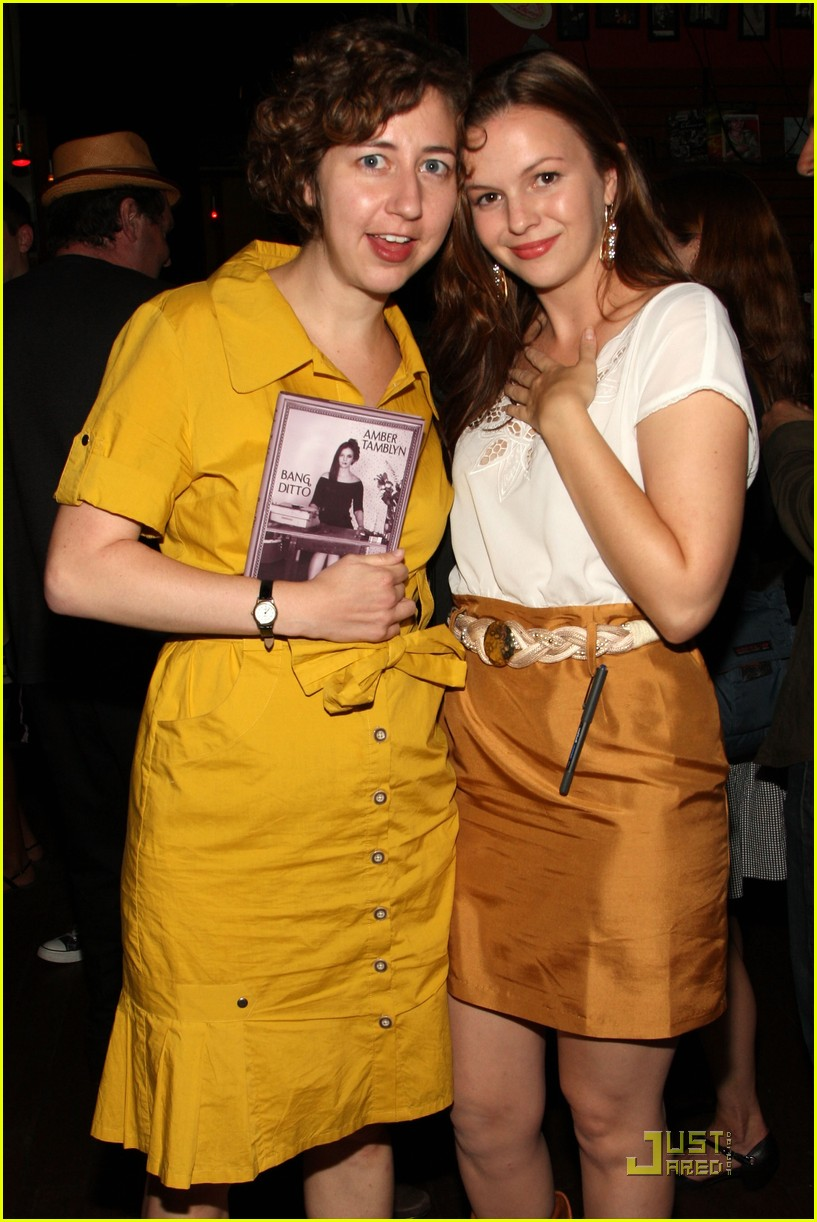 amber tamblyn bang ditto book party 11
