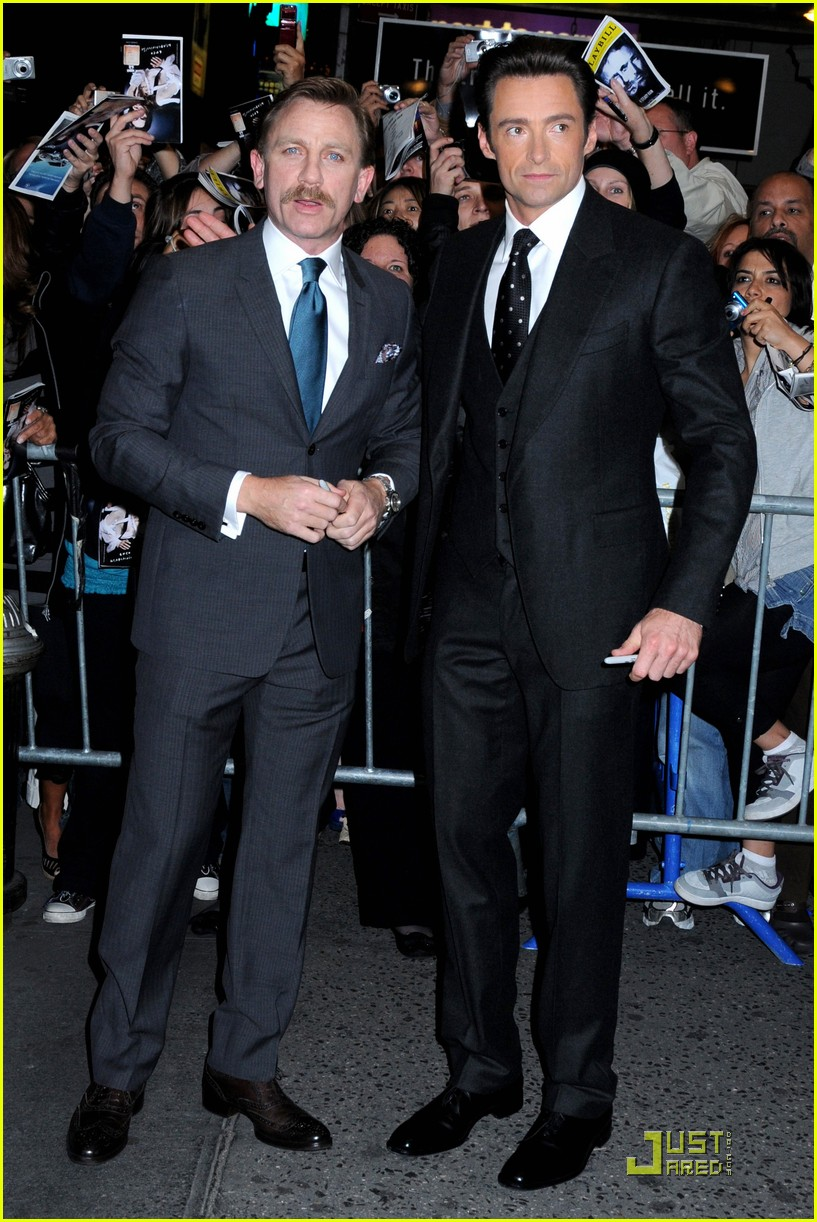 Hugh Jackman and Daniel Craig enlisted in the Chicago police 10.07.2009 79