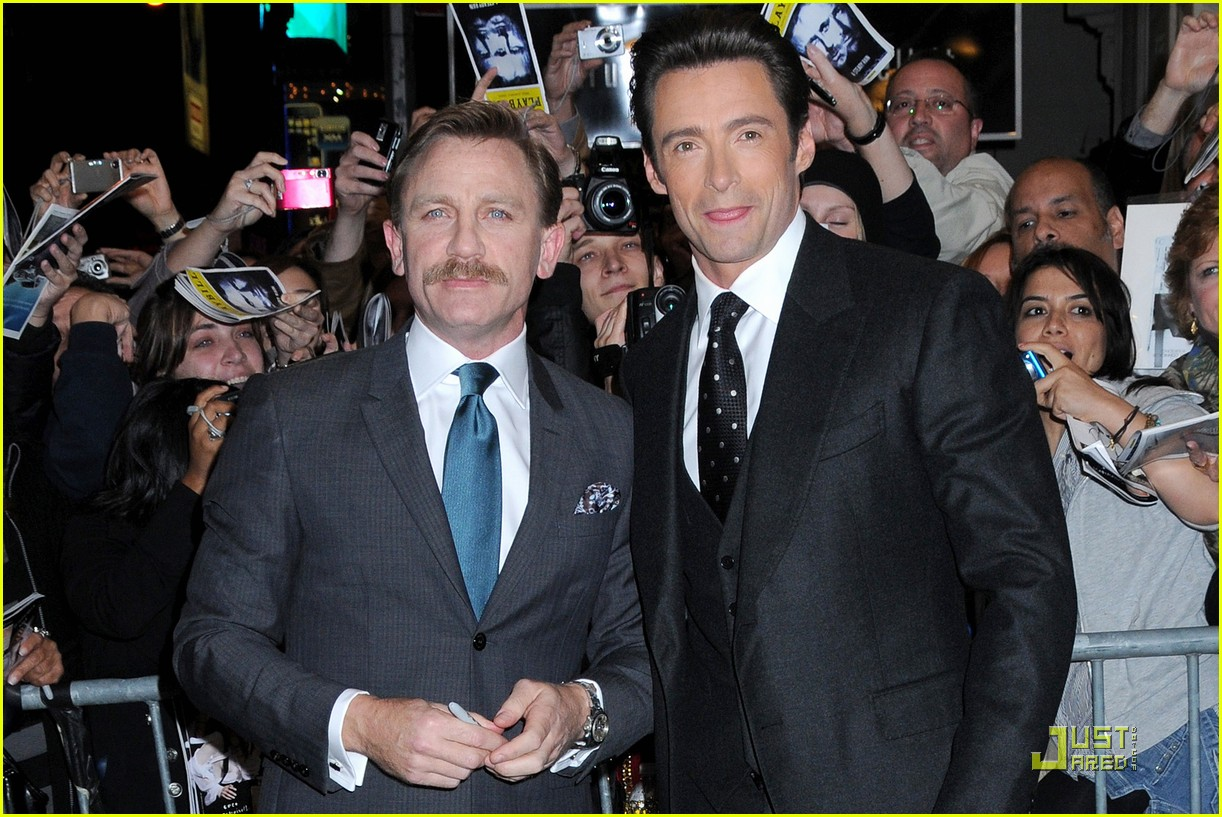 Hugh Jackman and Daniel Craig enlisted in the Chicago police 10.07.2009 31