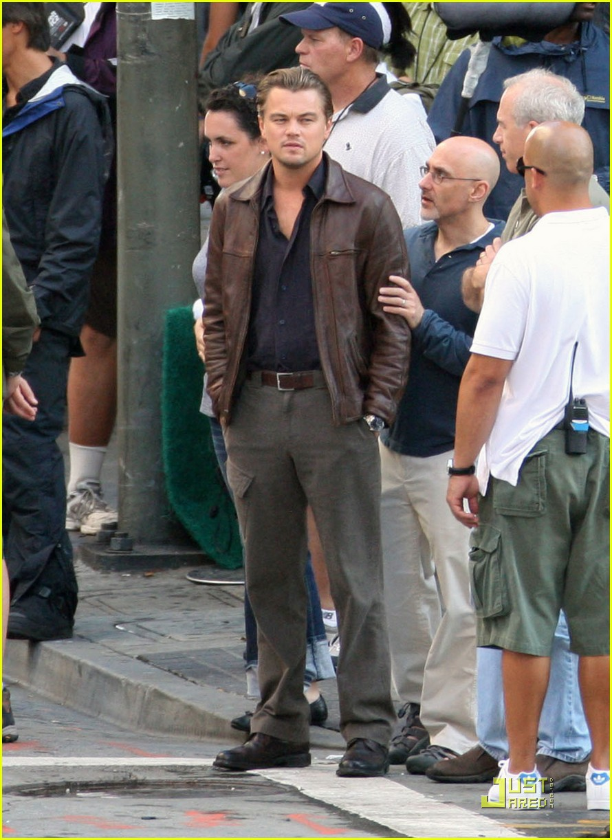 Leonardo DiCaprio Ignites Inception: Photo 2233062