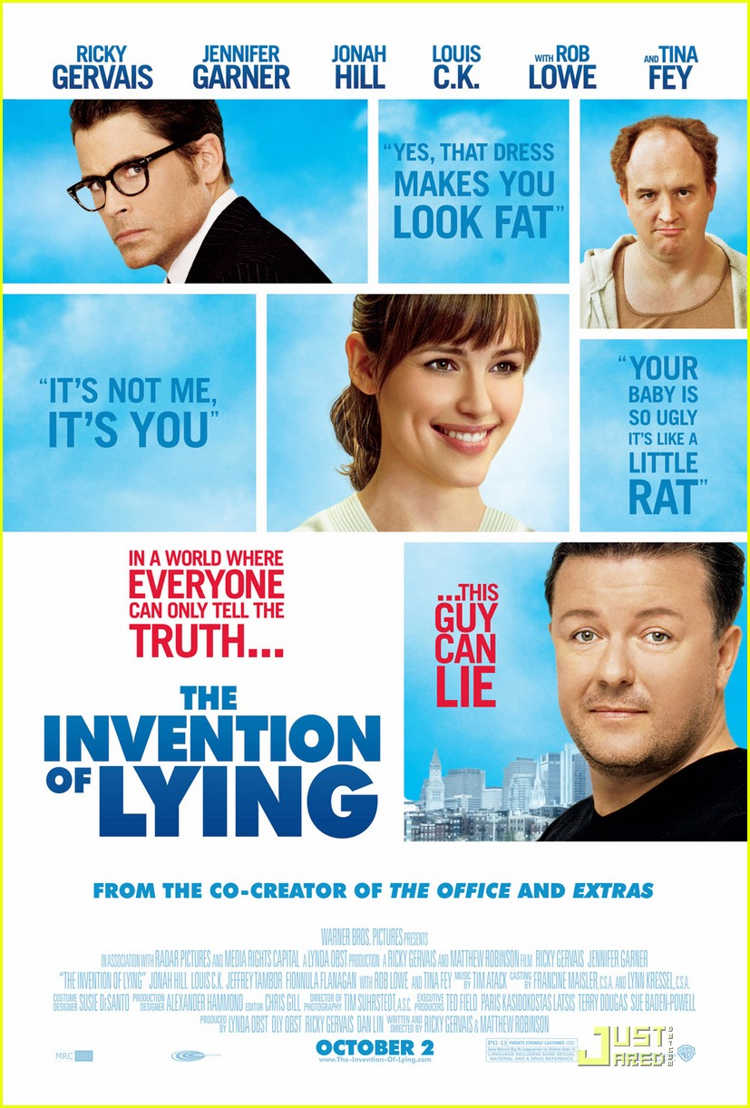 jennifer garner invention of lying poster 012186371