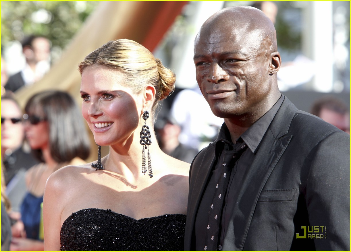 heidi klum emmy awards 2009 04