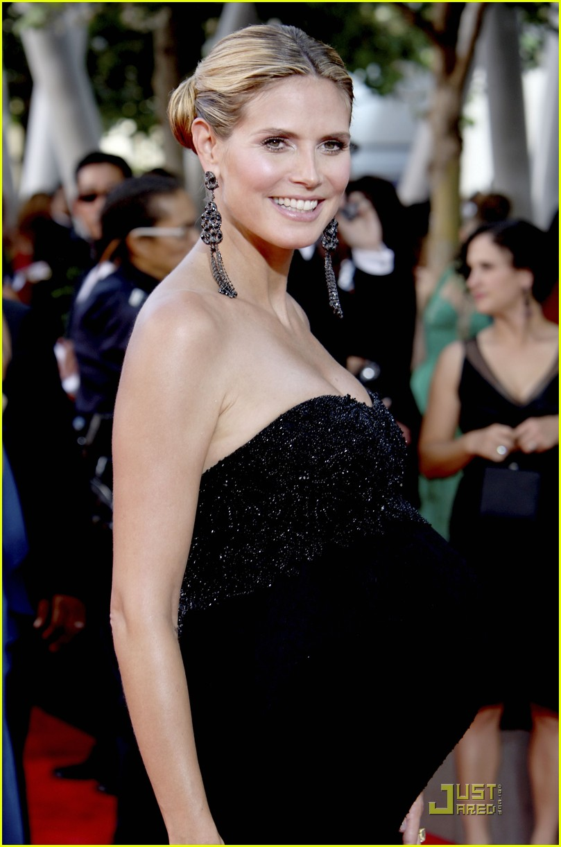 heidi klum emmy awards 2009 162231642
