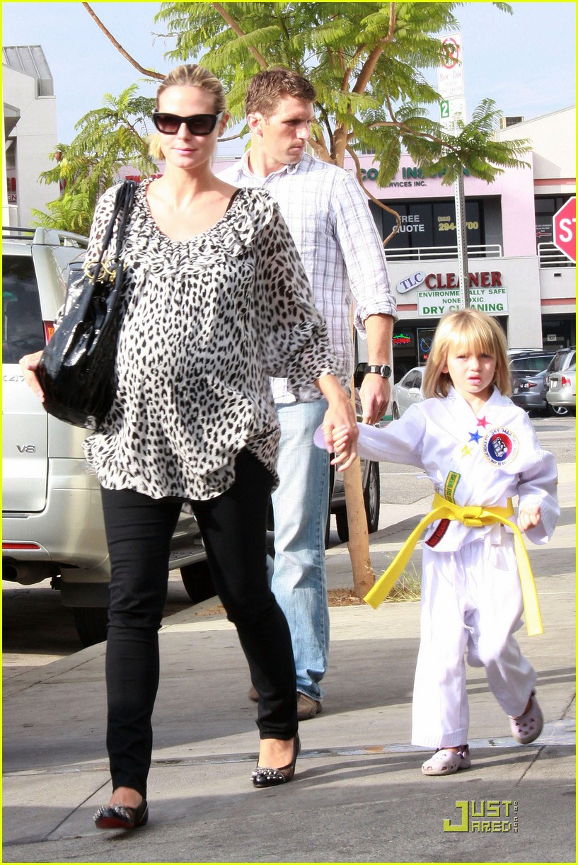 heidi klum has karate kids 03