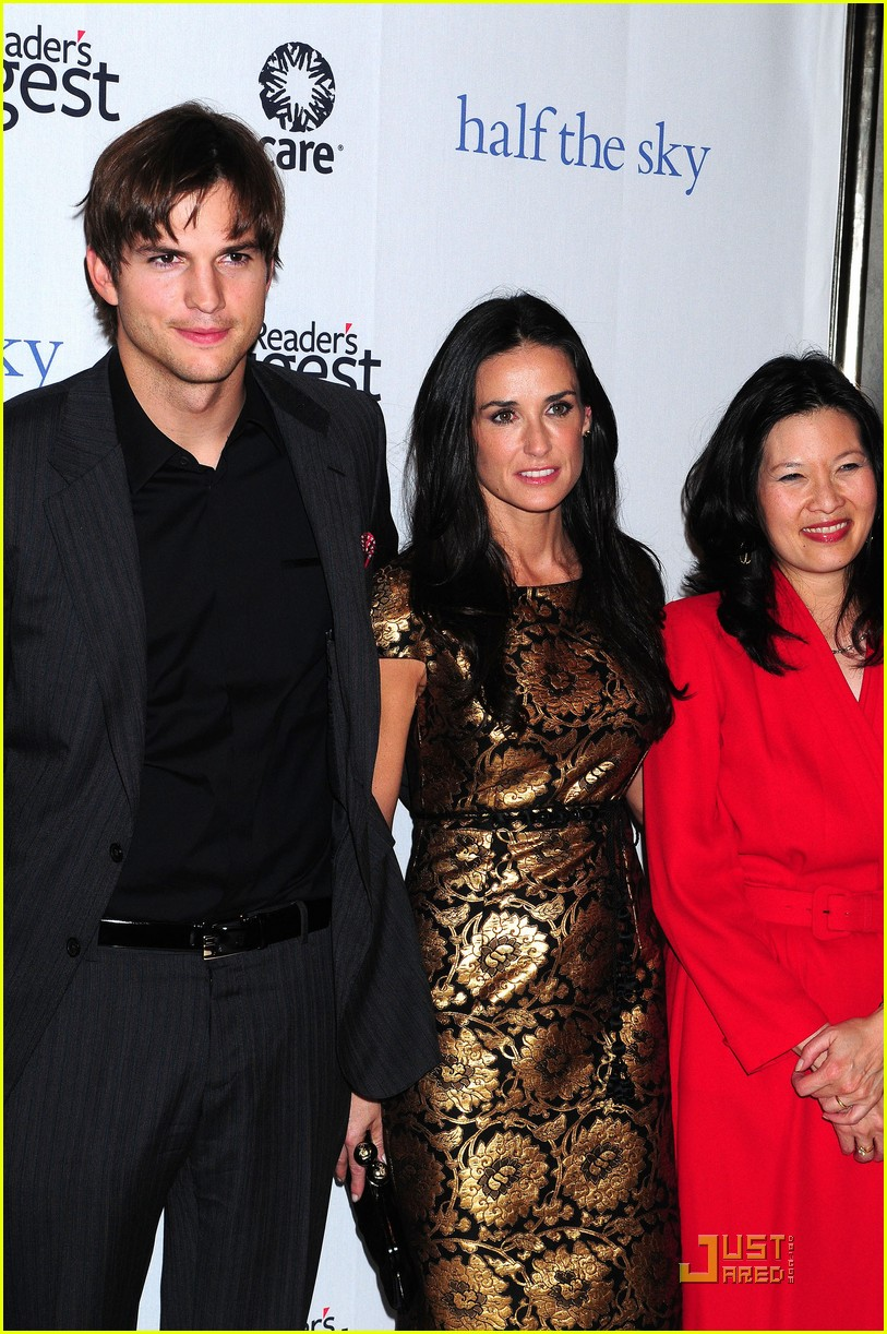 ashton kutcher demi moore half the sky 05