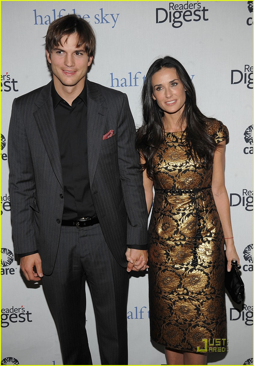 ashton kutcher demi moore half the sky 062240822