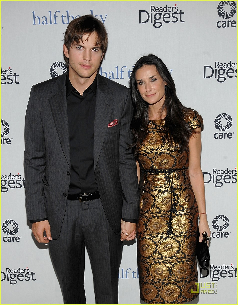ashton kutcher demi moore half the sky 162240922