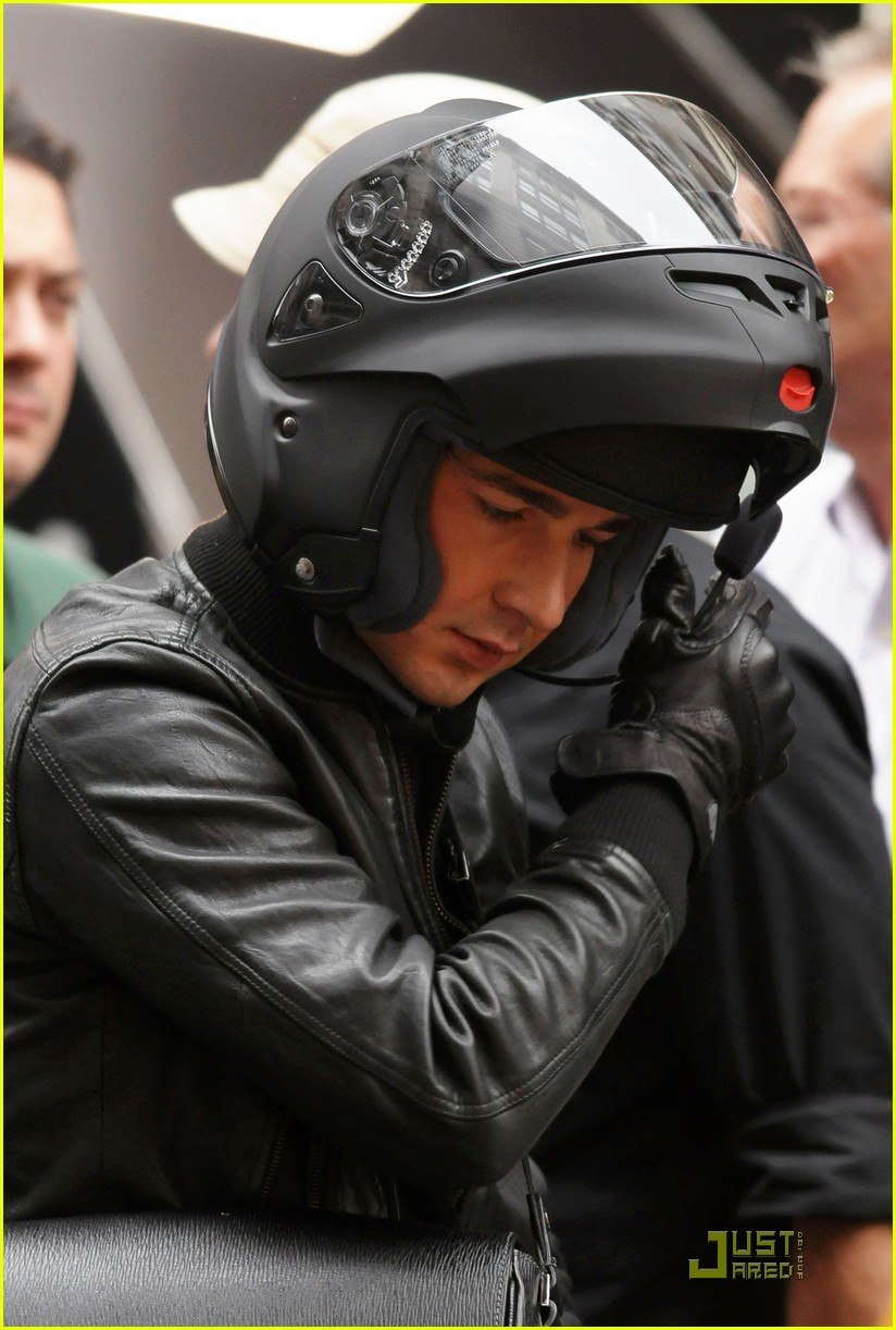 shia labeouf carey mulligan motorcycle 022219481