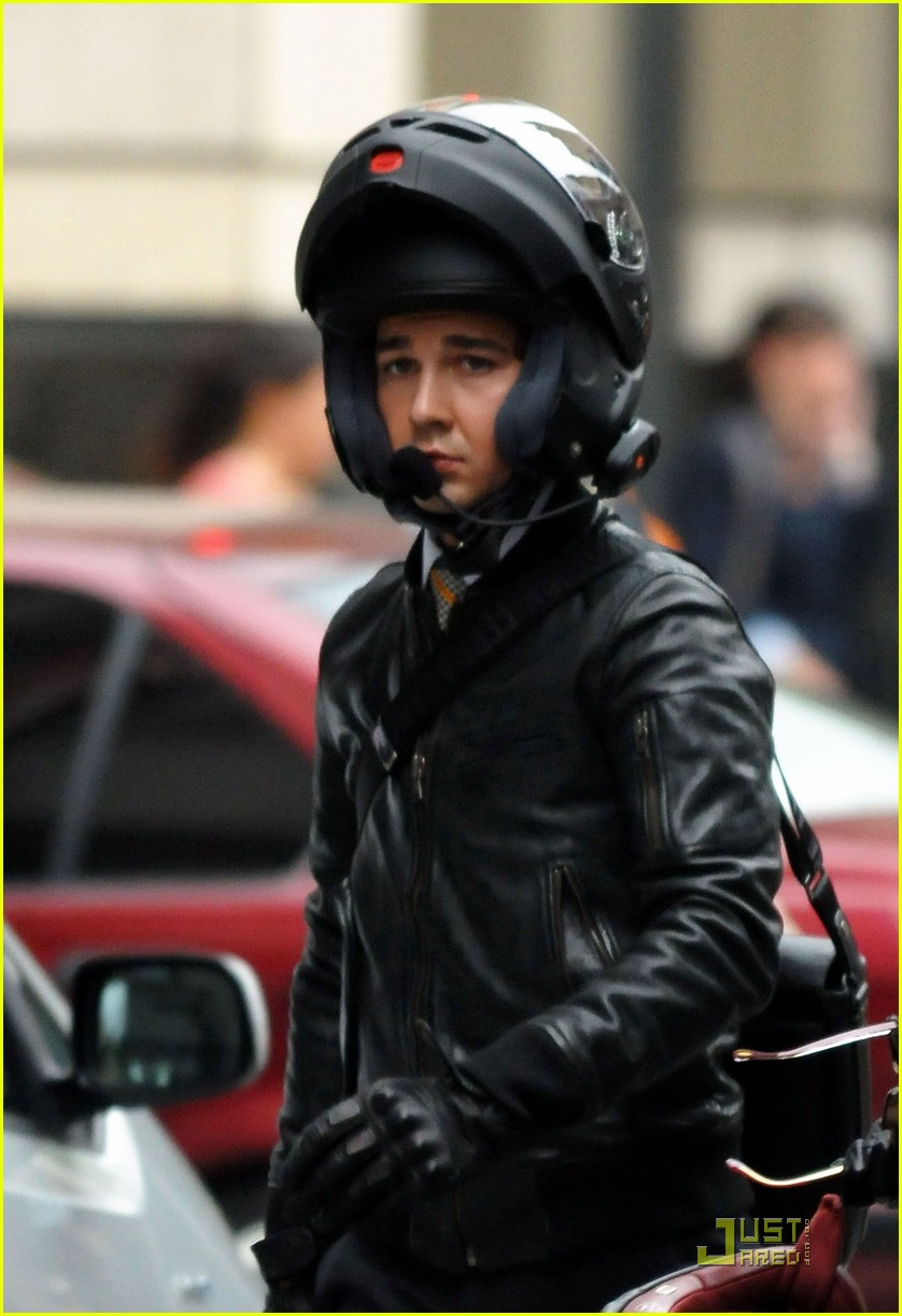 shia labeouf carey mulligan motorcycle 072219531