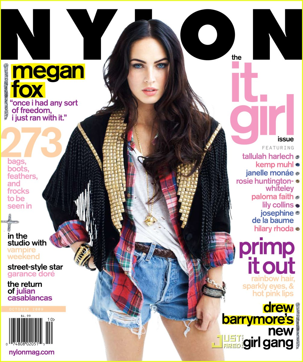megan fox nylon magazine 01