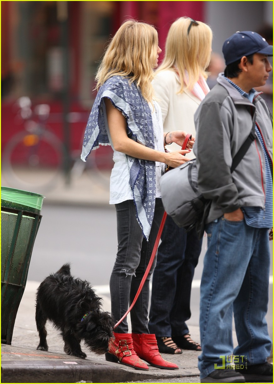 sienna miller red boots beautiful 052237381