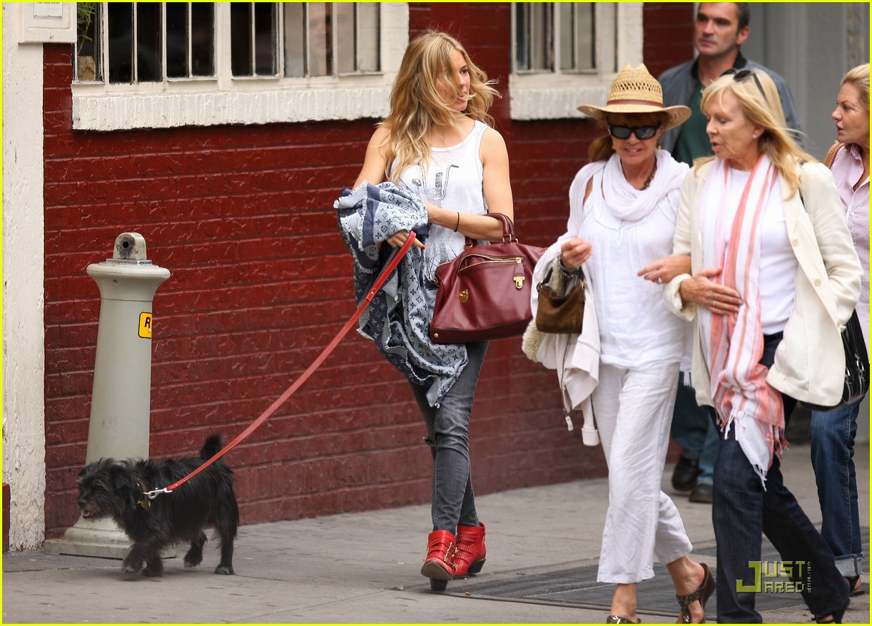 sienna miller red boots beautiful 06