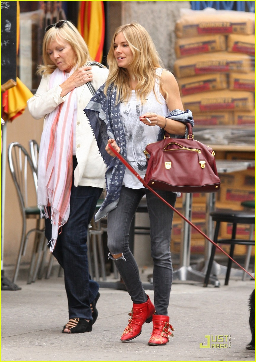 sienna miller red boots beautiful 10