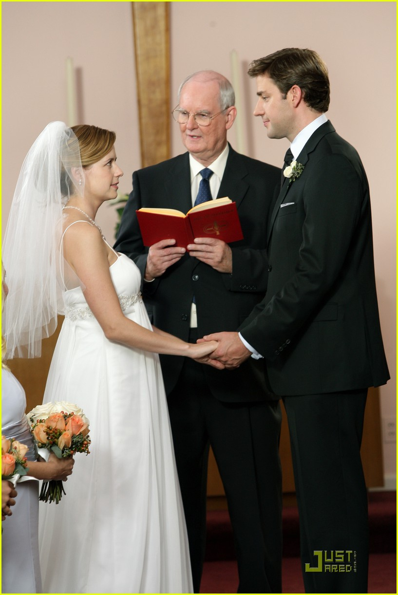 the office wedding pictures first look photo 2244151