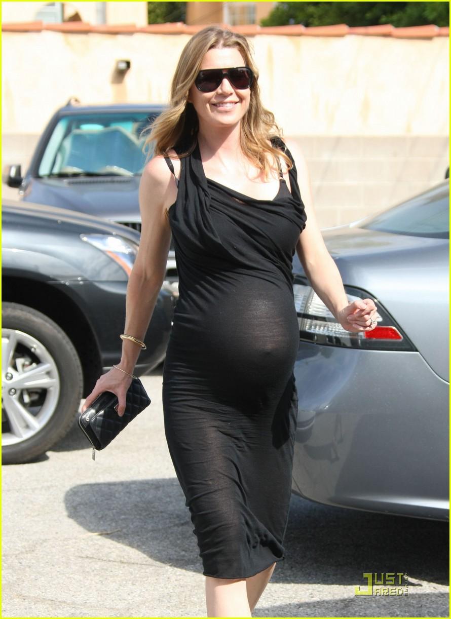 ellen pompeo pregnant