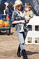 christina aguilera visits a pumpkin patch 19