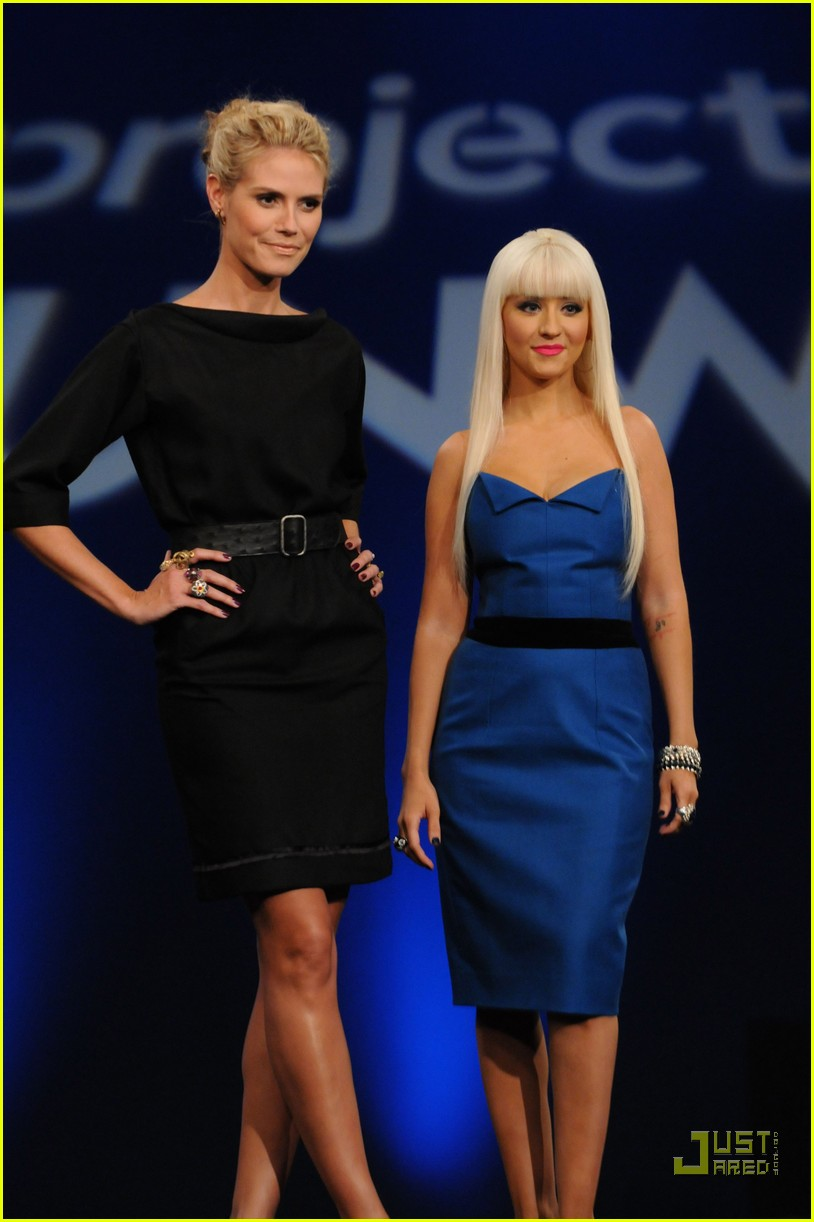 christina aguilera project runway 012257861